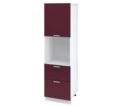 Ксения ШПВ2Я-600 шкаф-пенал высокий напольный