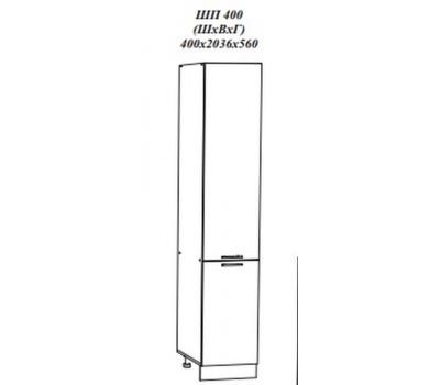 КВАДРО ШП-400 шкаф-пенал напольный