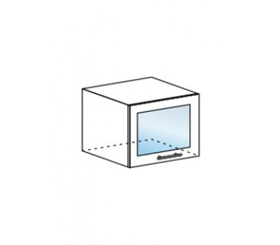 ЮЛИЯ ШВГС-500 шкаф горизонтальный со стеклом