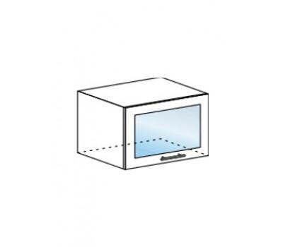 МАРИЯ ШВГС-600 шкаф горизонтальный со стеклом