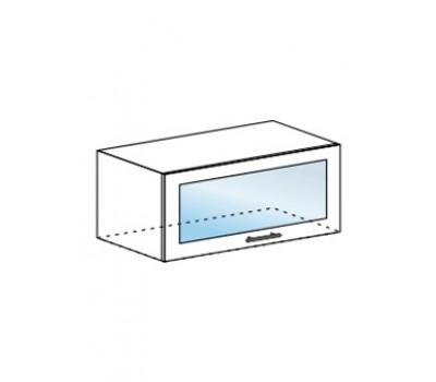 МОДЕНА ШВГС-800 шкаф горизонтальный со стеклом
