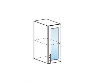 ДЖУЛИЯ ШВС-300 шкаф навесной со стеклом