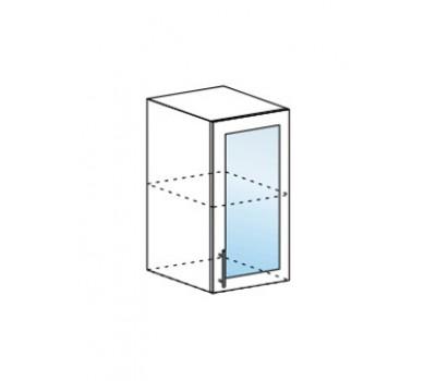 Ксения ШВС-500 шкаф навесной со стеклом