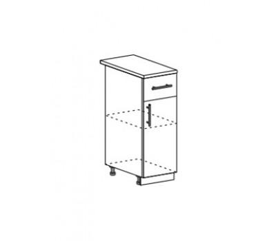 Лира ШН1Я-300 шкаф нижний с ящиком