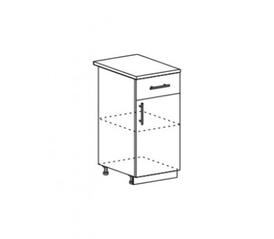 Лира ШН1Я-400 шкаф нижний с ящиком