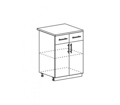 ГАРДА ДСВ ШН2Я-600 шкаф нижний с ящиком