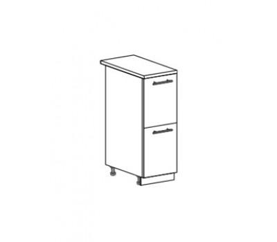 МОДЕНА ШН2Я-300 шкаф нижний комод (2 ящика)