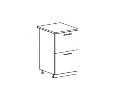 МОДЕНА ШН2Я-500 шкаф нижний комод (2 ящика)