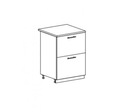 ОПЕРА СК2-600 шкаф нижний с 2 ящиками