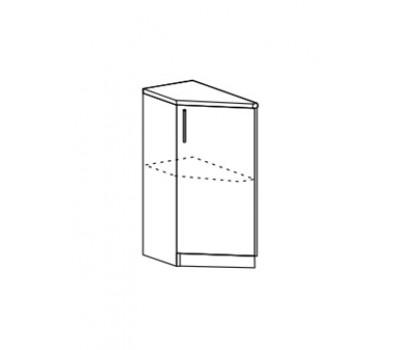 Ксения ШНТУ-400 шкаф нижний торцевой угловой