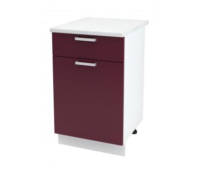 Ксения ШН1Я-500 шкаф нижний с ящиком
