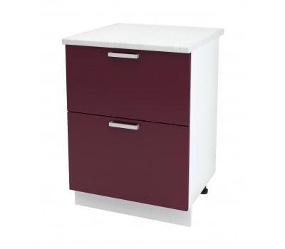 Ксения ШН2Я-600 шкаф нижний с 2 ящиками
