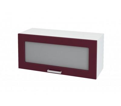 Ксения ШВГС-800 шкаф горизонтальный со стеклом