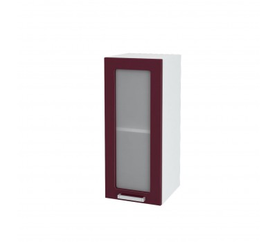 Ксения ШВВС-300 шкаф навесной со стеклом