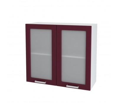 Ксения ШВВС-800 шкаф навесной со стеклом